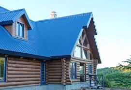 maison en bois rond vallière