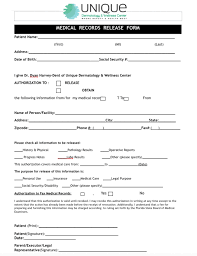 microneedling consent form patient forms unique dermatology wellness