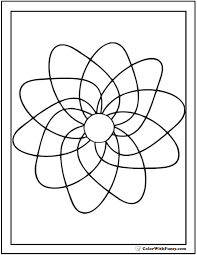 Small Picture 70 Geometric Coloring Pages To Print And Customize