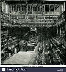 Interior House Of Commons  Parliament Westminster Sir Charles - Houses of parliament interior