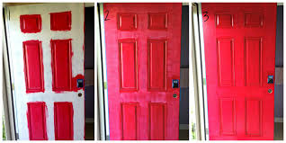 how to paint a front doorWhimsy Renee How to Paint a Door Red and Save Your Sanity  Part Deux
