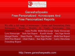Ganeshaspeaks Birth Chart Ganesha Speaks Freebiz