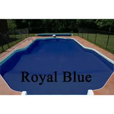 pool paint colorsPool Shield CRX Chlorinated Rubber Pool Paint  1 Gallon Royal