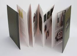multifold book with hardcovers