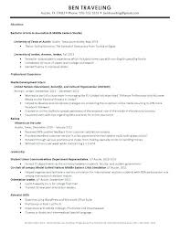 Study Abroad Resume Sample Study Abroad Resume Freshman Resume Sample Fresh Resume Study Abroad