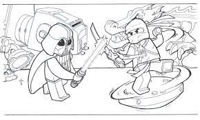 Small Picture Luxury Lego Ninja Coloring Pages 95 In Line Drawings With Lego