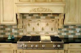 creative common appealing neutral colored french country kitchen with brick tiles pic of style and popular tile slate stone installing backsplash backspla