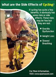 what are the side effects of cycling