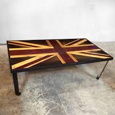 modern wood furniture. Union Jack Flag - British Weathered Reclaimed Wood Coffee Table Or Desk Art Modern Wall Furniture L