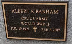 "Albert Rolland ""Al"" Barham (1921-2017) - Find A Grave Memorial"