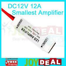 <b>DC12V 12A</b> 144W <b>3</b> Channel Smallest mini Inline RGB LED ...
