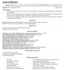 Maintenance Resume Examples Gorgeous Aviation Manager Resume Samples Examples Maintenance Mechanic