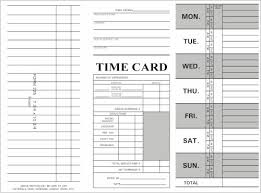 weekly time card weekly time cards with job entry tri fold 1000 ct 800 858 7462