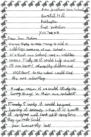 Kids Persuasive Letter An Example Of A Persuasive Letter To A Head