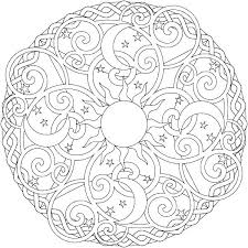 Flower Design Coloring Pages Free Printable Fashion Design Coloring