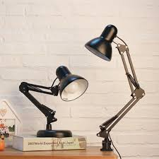 2019 modern simple adjule desk lamps e27 led vintage table lamps for study office reading night light bedroom library living room from cornelius