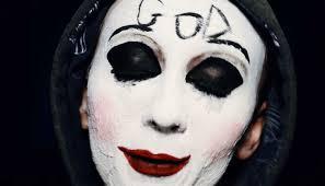 6the purge makeup masks