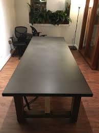 restoration hardware reclaimed wood u0026 zinctop rectangular dining table for sale in seattle wa offerup zinc top restoration hardware r78 zinc