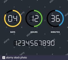 Orologio digitale o timer per conto alla rovescia. Concetto di tempo  vettoriale. Conto alla rovescia con giorni e ore, illustrazione del conto  alla rovescia Immagine e Vettoriale - Alamy