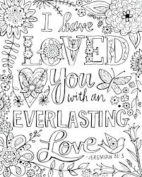 Bible Verse Coloring Pages Pdf