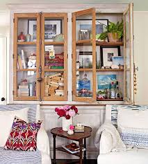 rustic living room home decor