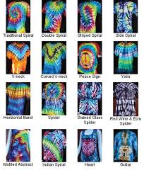 Different Tie Dye Patterns Adorable Tie Dye Folding Patterns Example Bing Images Tie Dye Pinterest