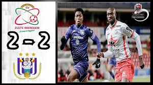 SV Zulte Waregem 2 - 2 RSC Anderlecht: All Goals & Extended Highlights -  YouTube