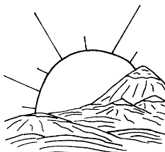 Small Picture Landscape Coloring Pages