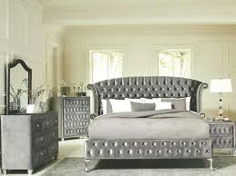 grey cal king bedroom set queen unique sets rustic furniture leather tufted bed with large dresser