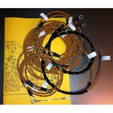 excelsior midco generator magneto model excelsior early midco magneto generator cotton braided wiring harness