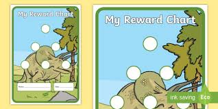 Free Dinosaur Sticker Reward Chart 15mm Dinosaur