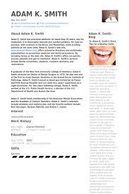 Cv Template Dentist 2 Cv Template Dental