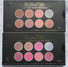 ultra blush contour palettes in hot e and sugar e
