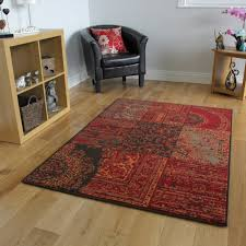 Large Rugs For Living Room Warm Orange Red Rugs Traditional Small Large Rugs New Patchwork