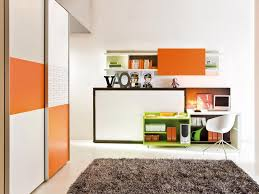 office at home ideas. Delightful Office Decorating With Corner White Table And  Chair Also Grey Fur Idea Office At Home Ideas