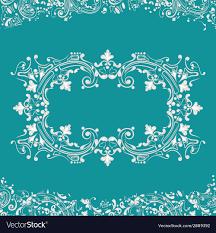 Fancy Background Design Frame Fancy Background Royalty Free Vector Image
