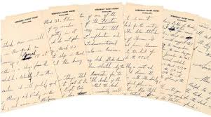 mlk papers go for more than k at nyc auction mlk paper some civil rights movement history went up for thursday as papers from the rev martin luther king jr including speech outlines and