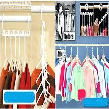 hat storage rack space saver wonder magic hanger clothes closet organizer hook drying rack multi function