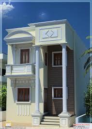 narrow home design 1600 square feet house details