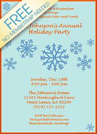 Printable Christmas Flyers Free Printable Christmas Party Flyer Templates Fun For Christmas