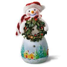 Amazon.com: Hallmark Keepsake 2017 Snowtop Lodge Benny M. Merrymaker With  Wreath Christmas Ornament: Home & Kitchen