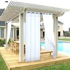 deck curtains outdoor privacy curtains outdoor privacy curtain outdoor privacy curtains for deck pergola curtains diy