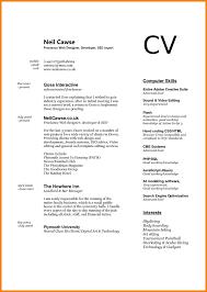 Computer Proficiency Resume Resume Online Builder