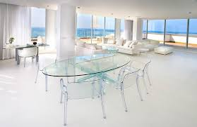 oval glass dining table. full glass oval dining table r