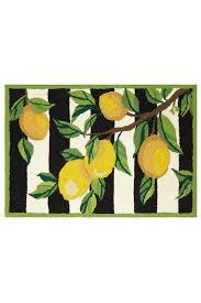 peking handicraft lemon branch rug front cropped image
