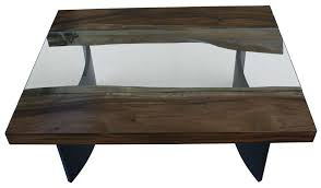 Contemporary Glass Top Coffee Tables Coffee Tables Mortise Tenon