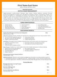 Supply Chain Management Resume – Foodcity.me