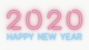Download Premium Png Of Neon Happy New Year 2020 Wallpaper