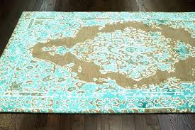 brown turquoise rug image of brown turquoise area rugs brown and turquoise bathroom rugs