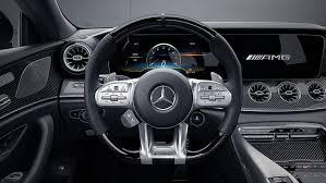 Los cambios de 9 velocidades amg speedshift tct, adaptados al nuevo catálogo de exigencias, entusiasman con transiciones extremadamente rápidas. 2021 Amg Gt 53 4 Door Coupe Mercedes Benz Usa